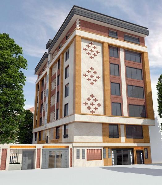 نمای ترکیبی عباس آباد