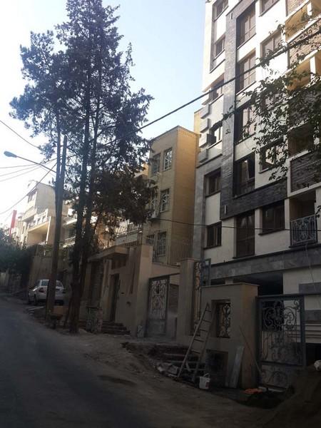 نمای مدرن عباس آباد