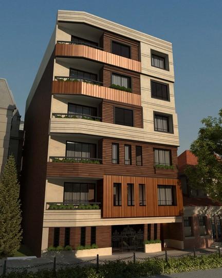 طراحی نمای مدرن یوسف آباد
