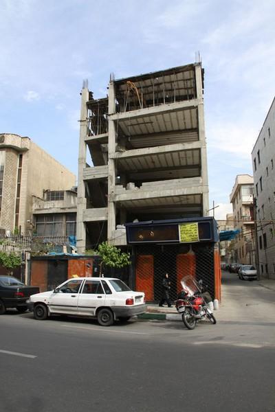 نمای کلاسیک خیابان کارگر