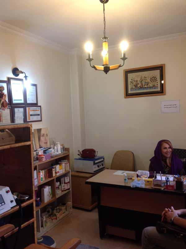 طراحی و اجرا دکوراسیون داخلی مطب دکتر شاهرکنی