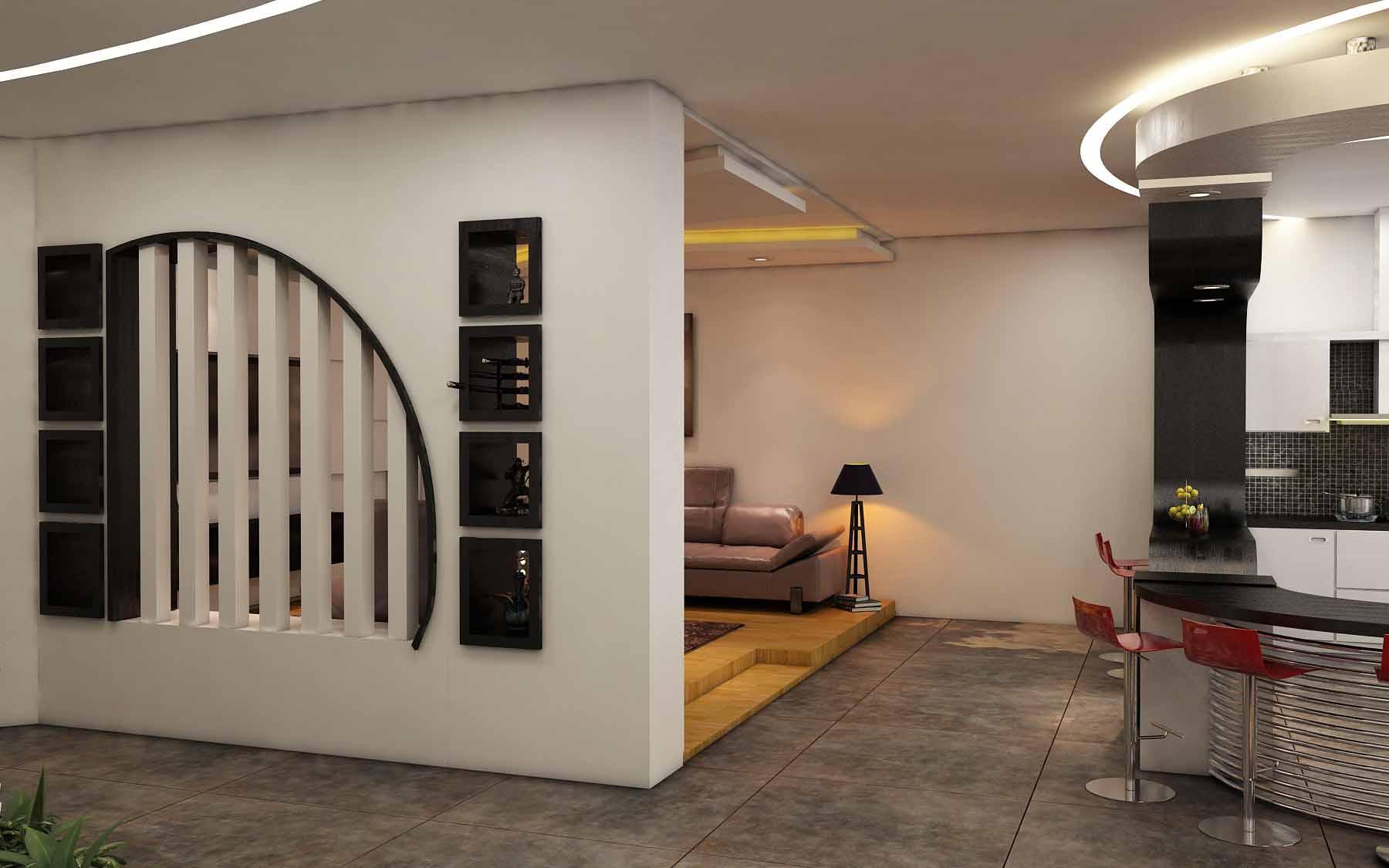 طراحی داخلی مدرن تهرانپارس